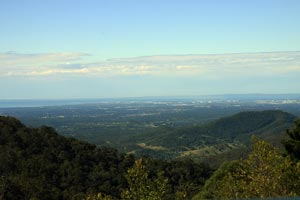 View from Mt Glorious